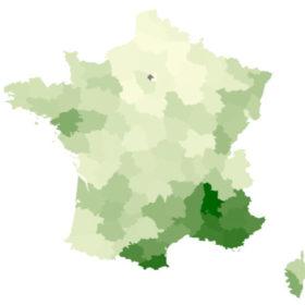 Carte France Natura Wellness
